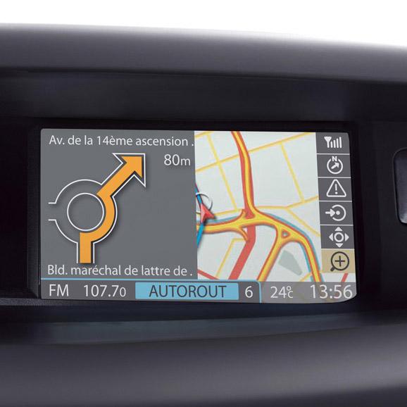 Sistem de navigatie integrat