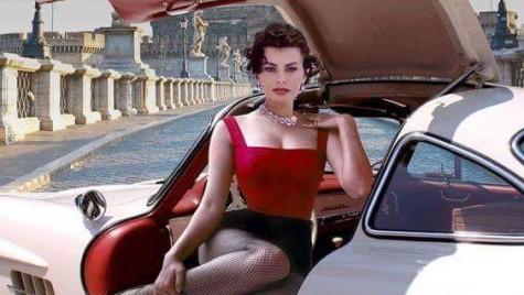 Mașinile sunt cele mai bune prietene ale unei fete – Sophia Loren a condus un Mercedes-Benz 300 SL