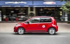Volkswagen up! – Un pitic atât de mic se distrează în trafic