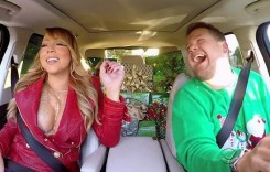 """All I want for Christmas…"" – Mariah Carey cântă în mașină cu James Corden"