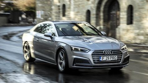 Băiatul rău cu intenții bune – Test drive Audi A5 Coupe 2.0 TDI