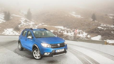Test drive Dacia Sandero Stepway 1.5dCI – Hai afară la zăpadă!