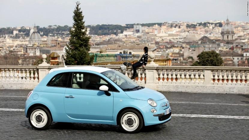 Fiat 500 2 cele mai mici mașini