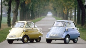Isetta cele mai mici mașini