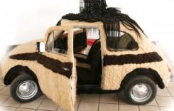 Fiat 500, coafat cu 75.000 de lire sterline