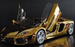 Lux prin definiție – Lamborghini Aventador Gold, cea mai scumpă mașină din lume