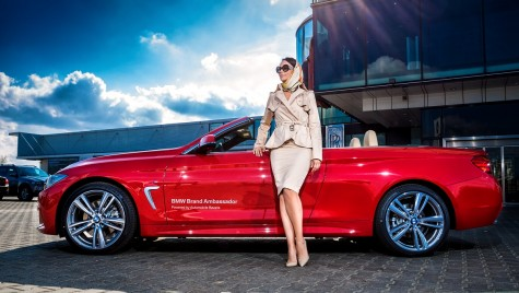 Andreea Marin – ambasador al mărcii Automobile Bavaria Group