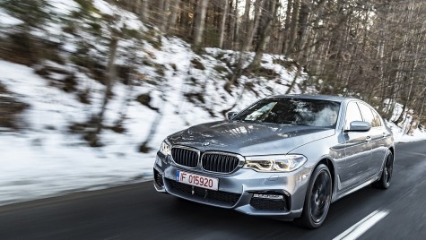 Mașina timpului – Test drive BMW Seria 5
