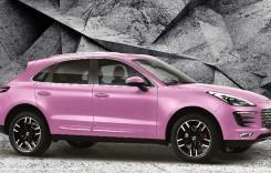 Made in China! Chinezii copiază Porsche Macan și lansează mașina roz Zotye SR9