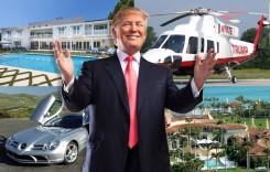 Săracul președinte bogat! Mașinile lui Trump