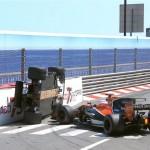 Accident Pascal Wehrlein Monaco