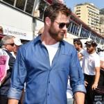 Chris Hemsworth Monaco