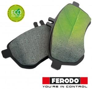 Plăcuțele Ferodo Eco-Friction