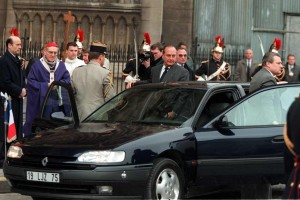 Jacque Chirac Renault Safrane mașini prezidențiale