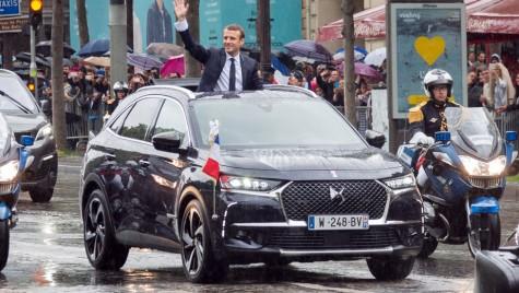 Mașina președintelui – Emmanuel Macron a ales DS7