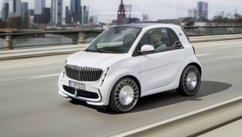 Cel mai mic Maybach din lume – smart fortwo Maybach