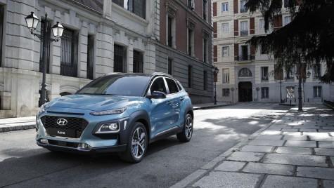 Hyundai Kona electric vine la Geneva cu autonomie impresionantă