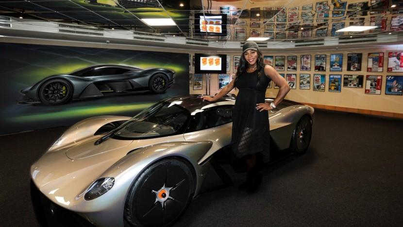 Serena Williams Aston Martin Valkyrie