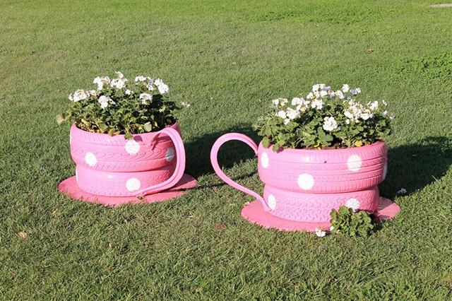 Flower-Teacups