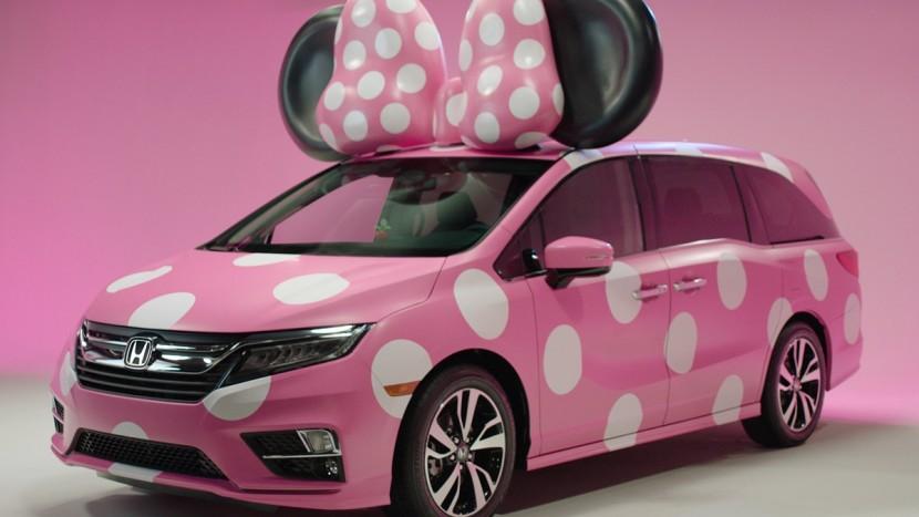 Honda Odysssey Disneyland