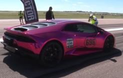 Unul dintre cele mai rapide Lamborghini de pe planetă este roz și este al unei doamne
