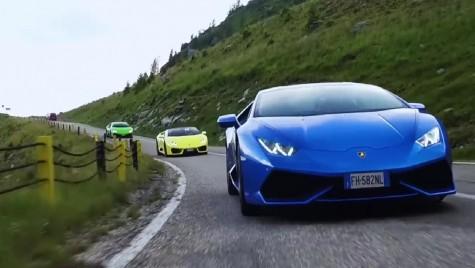 Țara hypercar-urilor – Lamborghini a dus șase mașini pe Transfărăgărășan