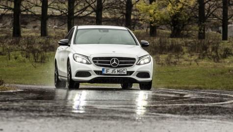 Test drive Mercedes-Benz C 350 e – Dacă fugi de acasă, fugi cu mașina potrivită