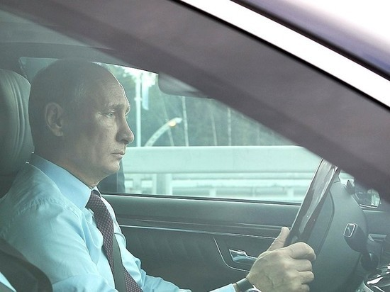 Vladimir Putin sofer