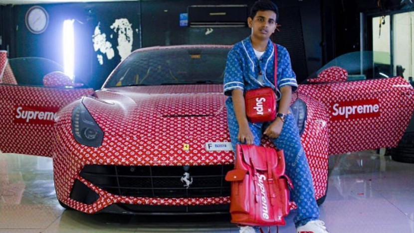 Ferrari Louis Vuitton