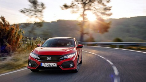 Honda Civic vine cu motor diesel din 2018