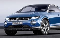 T-Roc, gata de bal. Așa arată micul SUV de la Volkswagen