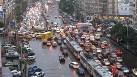 București e pe primul loc în topul orașelor europene cu cel mai haotic trafic!