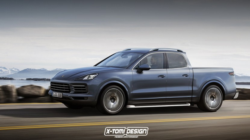 Porsche Cayenne pick-up