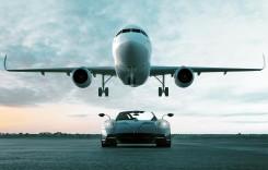 Cel mai rapid Pagani e un avion