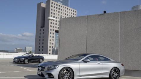 Mașini de vis – Mercedes aduce la Frankfurt S-Class Coupe și Cabrio facelift