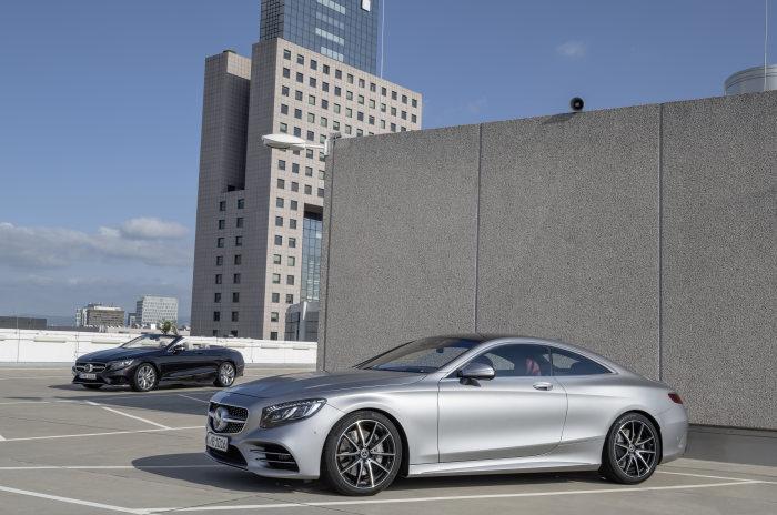 Mercedes-Benz S-Class Coupe si Cabrio