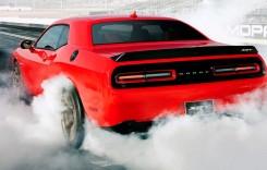 Doi pensionari au murit într-un accident în timp ce testau un Dodge Challenger Hellcat cu peste 700 CP!