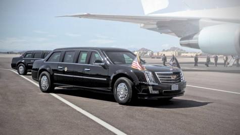 Totul despre limuzina lui Donald Trump, mașina care cântărește 8 tone și are un consum ieșit din comun