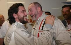 Jon Snow din Game of Thrones a fost spectator la cursa de Formula 1 de la Monza