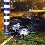 Kun Aguero accident