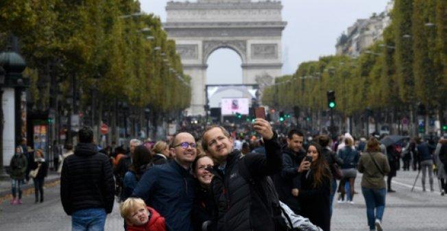 Experiment în Paris - O zi fără mașini