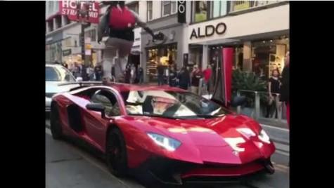 Cum să calci în picioare în Lamborghini? S-a întâmplat în San Francisco