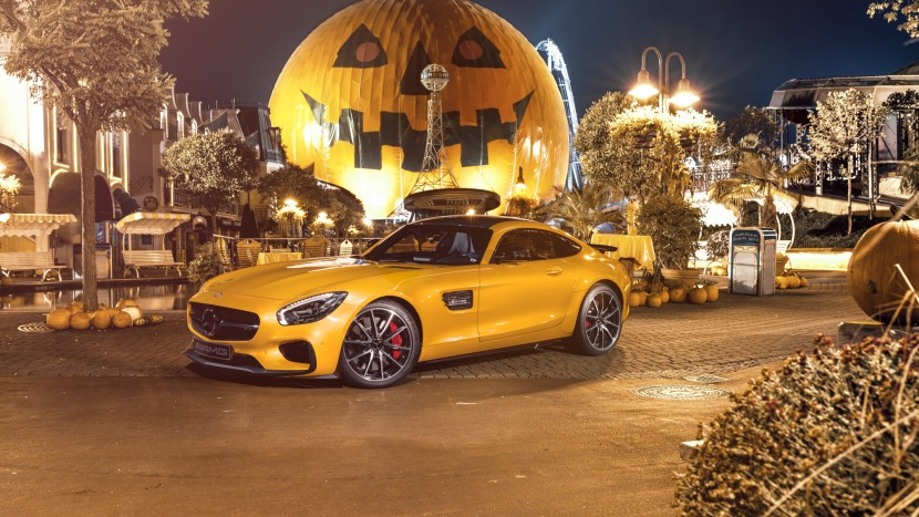 Mercedes-AMG GT S Halloween (1)