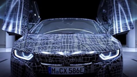 BMW i8 Roadster – Uite cum este construită mașina care va fi prezentată la sfârșit de noiembrie