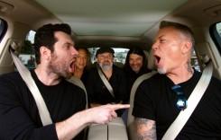 """Când rockerii au chef de distracție – Metallica într-un Audi Q7 cântă melodia Rihannei, """"Diamonds""""."""