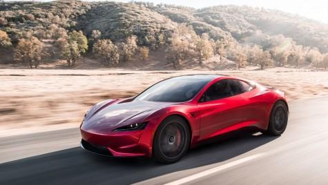 """Așa arată Tesla Roadster. Elon Musk: """"E cea mai rapidă mașină de serie din istorie!"""""""