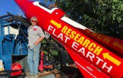 Și-a construit propria rachetă pentru a arăta că Pământul este plat