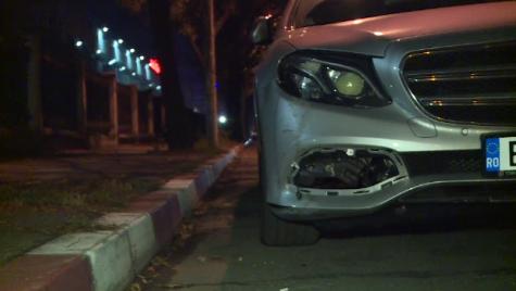 Cosmin Contra, implicat într-un accident rutier în București