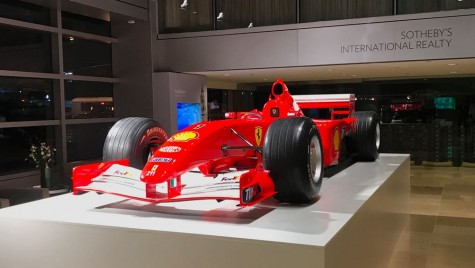 Ferrari-ul condus de Michael Schumacher, vândut pentru 7.5 milioane de dolari