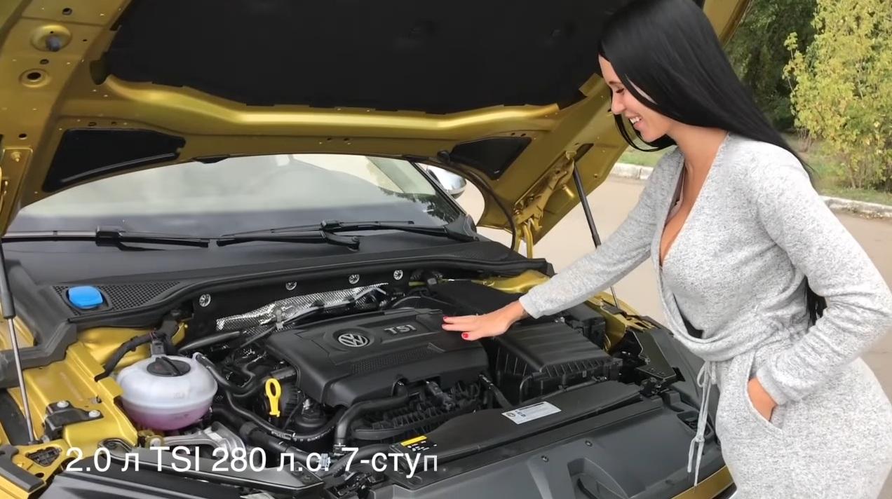VW Arteon la pachet cu fata